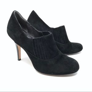 Cole Haan Nike Air Talia Suede Booties Size 6.5